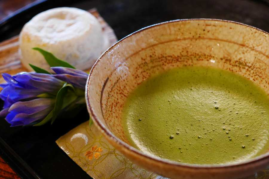 Traditional Matcha tea