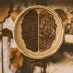 Brain design in Cup of Coffee