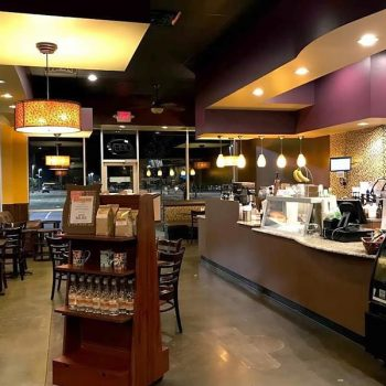 One of our coffee shops in San Marcos TX
