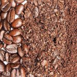 Course to Fine coffee grounds